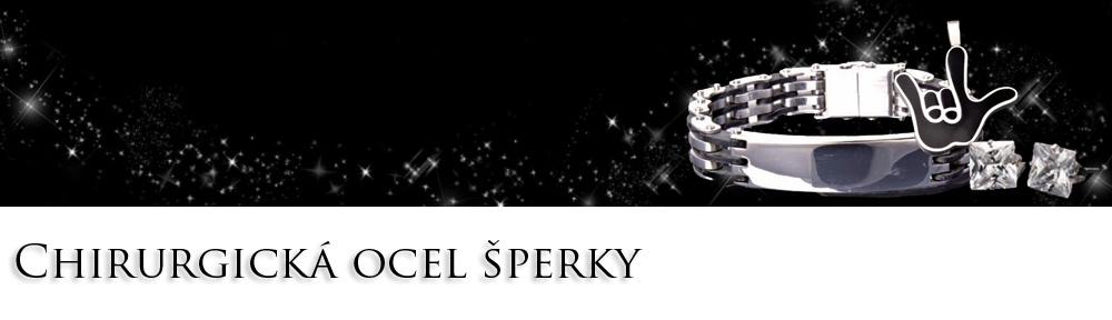 Chirurgická ocel šperky